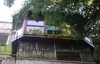 Французький балкон - Панорамне скління балкона та Лоджії