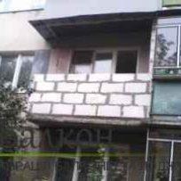 Кладка піноблоків або цегли на балконі або лоджії