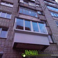 Засклити балкон - скління балкона Львів