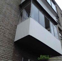 Обшивка балкона перил Львів