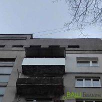Ремонт відкритого балкона Львів