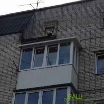 Видовження балкона в сторону Львів