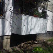 Зовнішня обшивка балкона Львів
