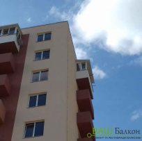 Засклення балконів із дахом - Ваш Балкон
