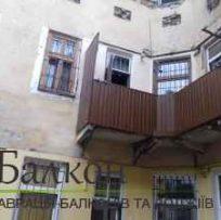 Ремонт балкона в Австрійському будинку Львів
