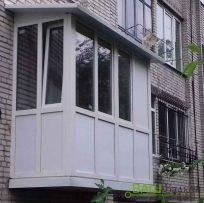 Встановлення балкону із заскленням Львів