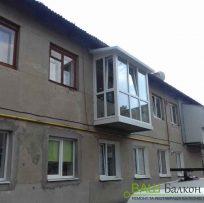 Панорамне скління балкона Львів