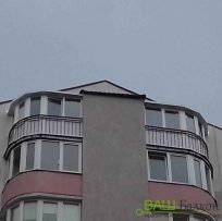 Радіусний балкон Львів