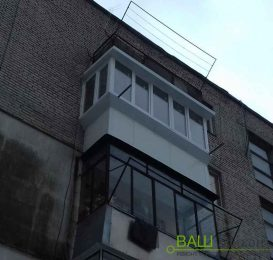 Балкон із сендвіч панелей - Ваш Балкон