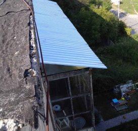 Перекриття даху на балконі - Ваш Балкон