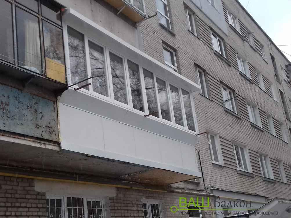 Вікна для балкона - Металопластикові балкони Львів