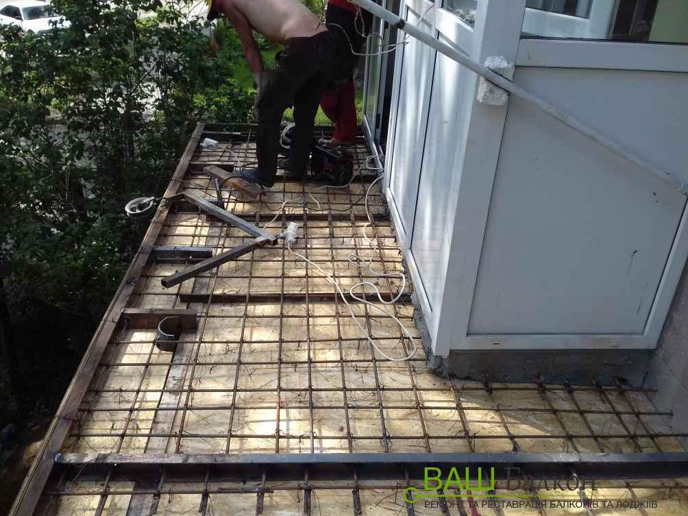 Збільшення балкона - Збільшити балкон Львів