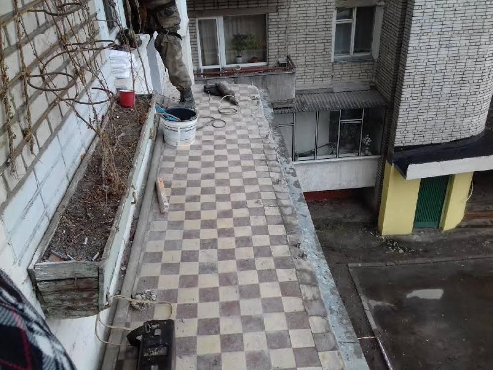 Как сделать балкон из бетона 777