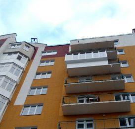 скління балкона Львів зварка виступу вперед Ваш Балкон 7