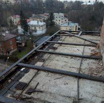 Демонтаж монолітної бетонної плити і розширення плити балкона Львів Ваш Балкон 15