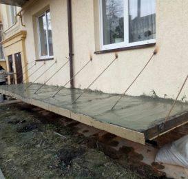 Заливка балконної плити Ваш Балкон Львів 9