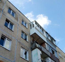 Заскління балкона у Львові з ремонтом 14