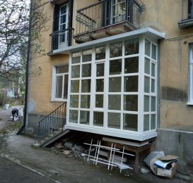 балкон з нуля Львів Ваш Балкон 12