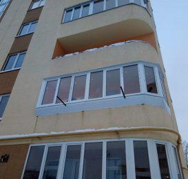 скління балкона Львів Ваш Балкон 6
