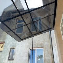 Перекриття даху відкритого балкона у Львові 4