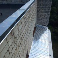 Перекриття даху балкона від протікання у Львові 8