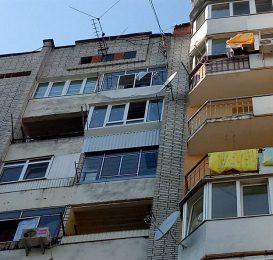 засклення лоджії у Львові 13