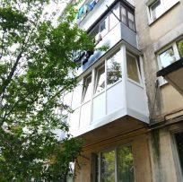 скління балкона знизу доверху у Львові 16
