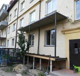 Заливка плити балкона у Львові компанією Ваш Балкон 9