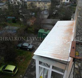 Накриття плити перекриття над балконом у Львові 4