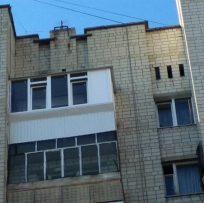 Ремонт балкона після повного демонтажу у Львові 13