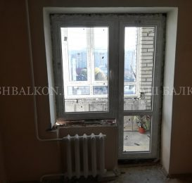 Заміна балконних блоків у Львові 16