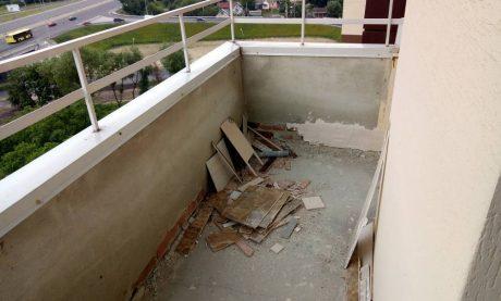 Скління балкона в новобудові Львів Ваш Балкон
